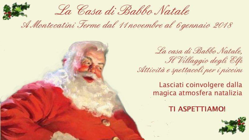 natale 2018 Casa di Babbo Natale Montecatini 2018 natale 2018
